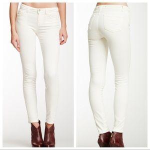 J Brand Winter White Skinny Cords